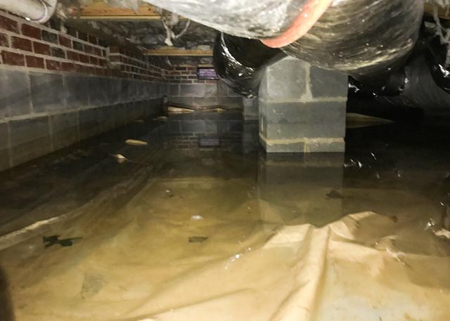crawl space flood